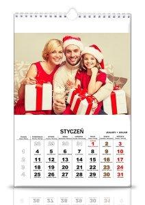10 kalendarzy 13 stronicowych A3 z Twoimi zdjęciami pion i poziom