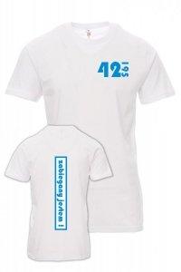 Koszulka z nadrukiem - zabiegany jestem