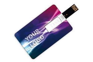 Pamięć USB z nadrukiem pendrive - karta kredytowa USB CC009