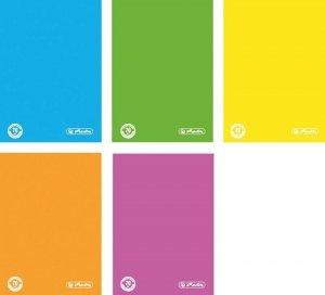 Brulion A4 w kratkę 96 kartek Color Blocking- Herlitz