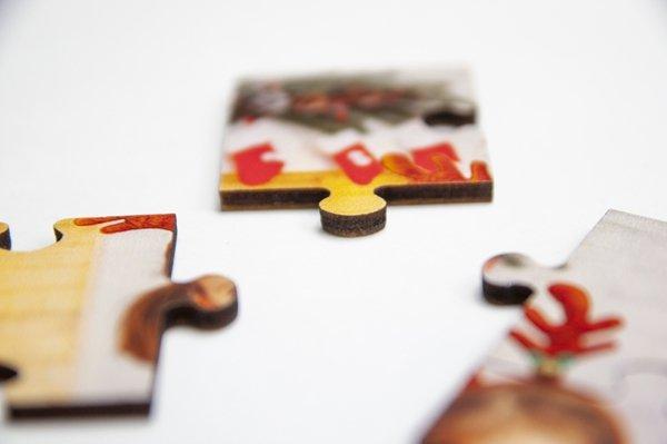 Puzzle drewniane 30x42 cm 300 elementów z Twoim nadrukiem