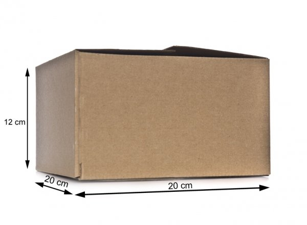 pudełko kartonowe 20x20x12 cm