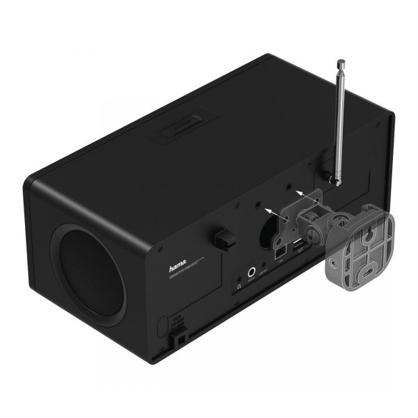 """Radio cyfrowe dab+/fm/internet """"dir3115ms"""" czarne"""