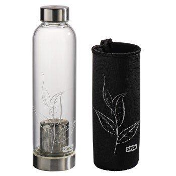 Szklana-butelka-z-sitkiem-i-neoprenowym-pokrowcem-500ml-czarna-XavaX
