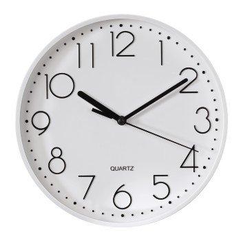 Biały zegar ścienny PG-220