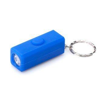 Brelok latarka niebieska