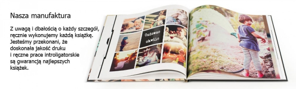 ręcznie robiona foto książka