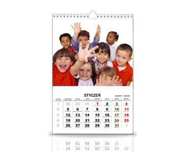 3 kalendarze 12 miesięczne a3+ z twoimi zdjęciami  | - 50 % taniej