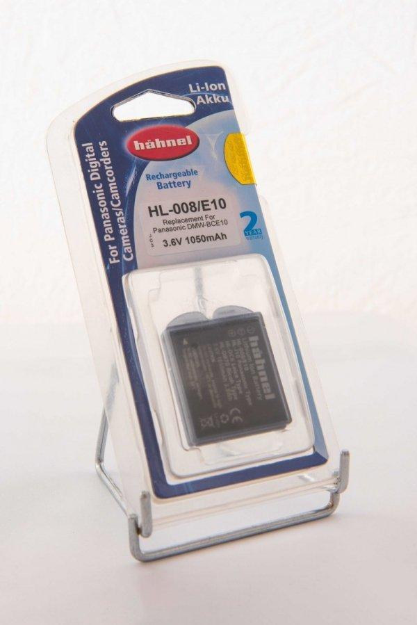 Akumulator HL-008/E10 do Panasonic DMW-BCE10/VW-VBJ10E/CGA-S008 - Hahnel