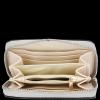 Vittoria Gotti Dámská Kožená Peněženka Made in Italy Světle šedá
