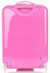 Walizka Kabinówka Dla Dzieci w Kropki z Króliczkiem Firmy Madisson Multikolor - Różowa