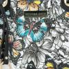 Vittoria Gotti Modna Torebka Skórzana Elegancki Kuferek Made in Italy w motyle Czarna