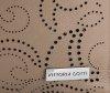 Vittoria Gotti Włoski Skórzany ShoppeBag z Kosmetyczką w modne wycinane wzory Ziemisty