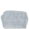 Uniwersalna Torebka Skórzana XL Shopper Bag w motyw zwierzęcy firmy Vittoria Gotti Jasno Szara