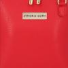 Mała Torebka Skórzana Elegancka Listonoszka firmy Vittoria Gotti Czerwona