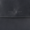 Klasyczna Listonoszka Skórzana firmy Vittoria Gotti Made in Italy Szara