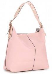 Dámské kabelky David Jones s kosmetickou Světle Růžová