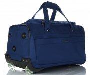 Snowball Cestovní taška na kolečkách s teleskopickou rukojetí Tmavě modrá