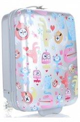 Módní Palubní kufřík pro děti Madisson multicolor - stříbrná