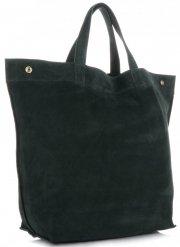 Univerzální Dámské kabelky ShopperBag XL Vera Pelle lahvově zelená