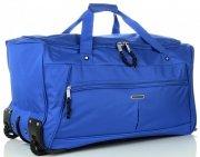 Cestovní taška na kolečkách s teleskopickou rukojetí renomované XL firmy Madisson Modrá