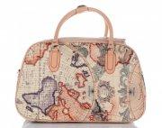 MALÁ cestovní taška kufřík Or&Mi World Multicolor - béžová