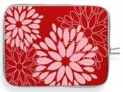 Módní Pouzdro pro Tablet 12'' vzor v květech červené