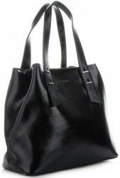Klasická Dámská Kabelka Kufřík Silvia Rosa černá