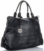 Univerzální dámská kabelka Diana&Co Černá