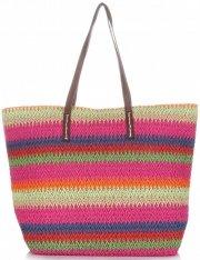Univerzální Dámské kabelky David Jones Multicolor růžová