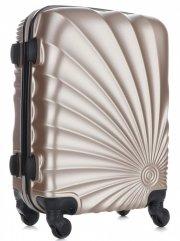 Módní Palubní kufřík Or&Mi 4 kolečka Zlaté