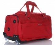 Snowball Cestovní taška na kolečkách s teleskopickou rukojetí červená