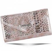 Elegantní Dámská peněženka Diana&Co Firenze hadí vzor zlatá