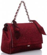 Elegantní Dámská kabelka kufřík Diana&Co Bordová