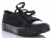 Univerzální dámské sportovní boty černé