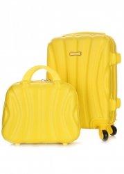 Kufry Or&Mi Sada 2 v 1 Žlutá