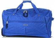 Cestovní taška na kolečkách s teleskopickou rukojetí renomované firmy Madisson Modrá