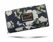 Dámská Peněženka Diana&Co v květech Multicolor Tmavě Modrá