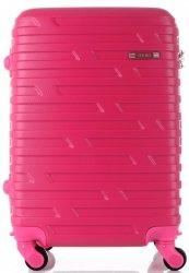 Módní Palubní kufřík Or&Mi 4 kolečka Fuchsia