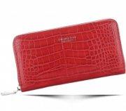 Dámská peněženka Diana&Co Firenze vzor Aligátor červená