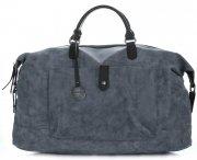 Velké Dámské kabelky XXL Cestovní taška Diana&Co Tmavě Modrá