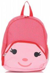 Plecaczki Dla Dzieci do Przedszkola w kropki firmy Madisson Multikolor - Różowy