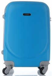 Walizka Kabinówka Ultra Light Or&Mi 4 kółka Niebieska