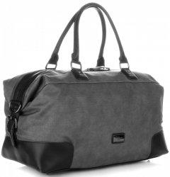 Solidní cestovní taška David Jones černá