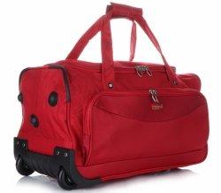 Cestovná taška slávnej spoločnosti Madisson na kolesách so stojanom Červená
