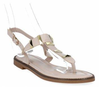 Béžové módní dámské sandály Bellicy