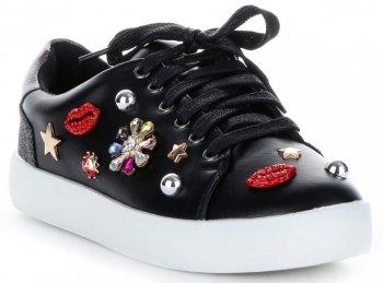 Elegantní dámské sportovní boty černé