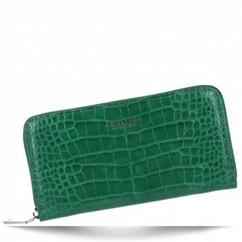 Elegantní Dámská Peněženka XL s motivem aligátora Diana&Co Dračí Zelená