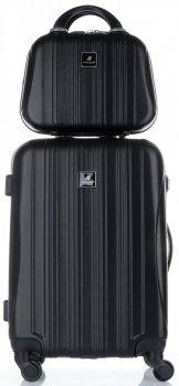 Kufry renomované firmy Madisson Sada 2 v 1 černá