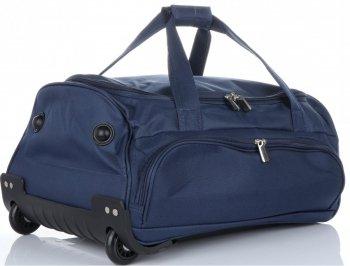Cestovní taška na kolečkách s teleskopickou rukojetí renomované firmy David Jones Tmavě modrá